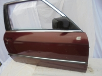 1 Türe rechts mit Fenster von BMW für den BMW E30 2-türig Bj 09/82-12/91 in dunkelrotmetallic