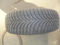 4 Winterkompletträder auf 5-Loch Stahlfelgen, Reifen von Hankook 195/65 R15 91T