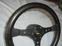 Lederlenkrad von Raid für den Opel Kadett D/E, Ascona C u.a.